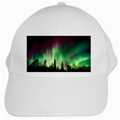 Aurora Borealis Northern Lights White Cap