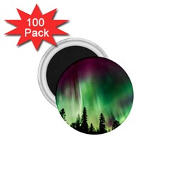 Aurora Borealis Northern Lights 1 75  Magnets (100 Pack)