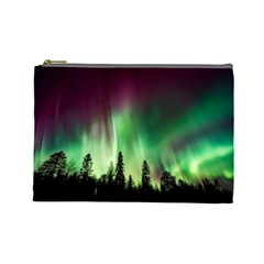 Aurora Borealis Northern Lights Cosmetic Bag (large)