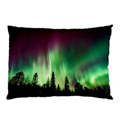 Aurora Borealis Northern Lights Pillow Case (two Sides)