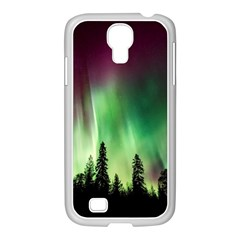 Aurora Borealis Northern Lights Samsung Galaxy S4 I9500/ I9505 Case (white)