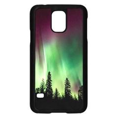 Aurora Borealis Northern Lights Samsung Galaxy S5 Case (black)