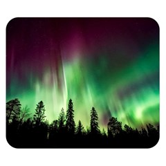 Aurora Borealis Northern Lights Double Sided Flano Blanket (small)