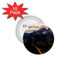 Italy Valley Canyon Mountains Sky 1 75  Buttons (10 Pack)