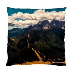 Italy Valley Canyon Mountains Sky Standard Cushion Case (two Sides)