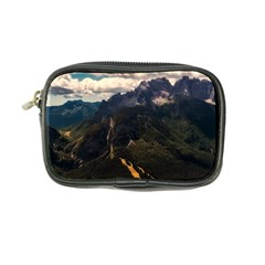 Italy Valley Canyon Mountains Sky Coin Purse