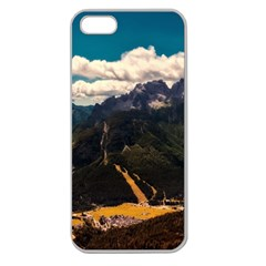 Italy Valley Canyon Mountains Sky Apple Seamless Iphone 5 Case (clear)