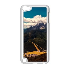 Italy Valley Canyon Mountains Sky Apple Ipod Touch 5 Case (white)