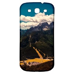 Italy Valley Canyon Mountains Sky Samsung Galaxy S3 S Iii Classic Hardshell Back Case