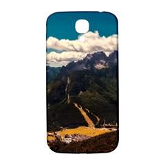 Italy Valley Canyon Mountains Sky Samsung Galaxy S4 I9500/i9505  Hardshell Back Case
