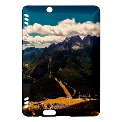 Italy Valley Canyon Mountains Sky Kindle Fire Hdx Hardshell Case