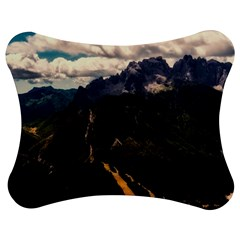Italy Valley Canyon Mountains Sky Jigsaw Puzzle Photo Stand (bow)