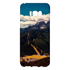 Italy Valley Canyon Mountains Sky Samsung Galaxy S8 Plus Hardshell Case