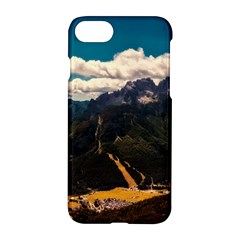Italy Valley Canyon Mountains Sky Apple Iphone 8 Hardshell Case