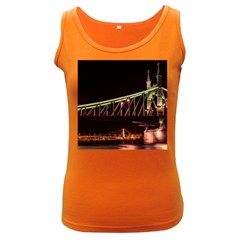 Budapest Hungary Liberty Bridge Women s Dark Tank Top