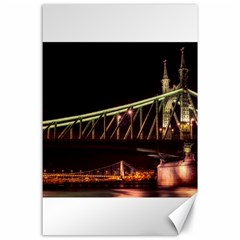 Budapest Hungary Liberty Bridge Canvas 24  X 36