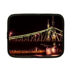 Budapest Hungary Liberty Bridge Netbook Case (small)