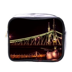 Budapest Hungary Liberty Bridge Mini Toiletries Bags