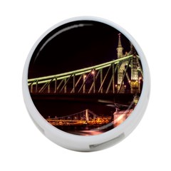 Budapest Hungary Liberty Bridge 4 Port Usb Hub (one Side)