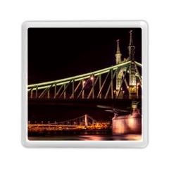 Budapest Hungary Liberty Bridge Memory Card Reader (square)
