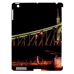 Budapest Hungary Liberty Bridge Apple Ipad 3/4 Hardshell Case (compatible With Smart Cover)