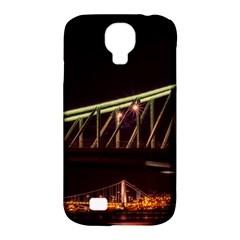 Budapest Hungary Liberty Bridge Samsung Galaxy S4 Classic Hardshell Case (pc+silicone)