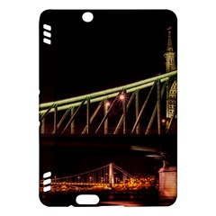 Budapest Hungary Liberty Bridge Kindle Fire Hdx Hardshell Case