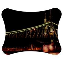 Budapest Hungary Liberty Bridge Jigsaw Puzzle Photo Stand (bow)