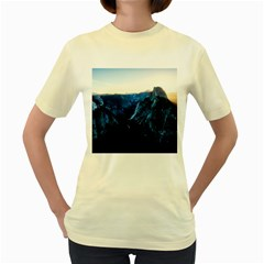 Yosemite National Park California Women s Yellow T Shirt