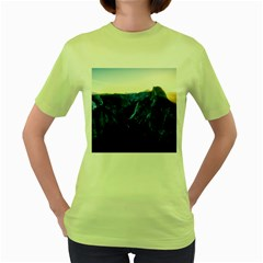 Yosemite National Park California Women s Green T Shirt