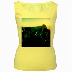 Yosemite National Park California Women s Yellow Tank Top