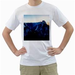 Yosemite National Park California Men s T Shirt (white) (two Sided)