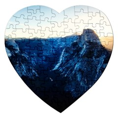 Yosemite National Park California Jigsaw Puzzle (heart)