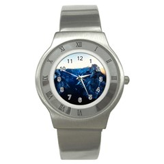 Yosemite National Park California Stainless Steel Watch