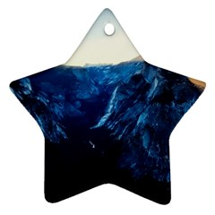 Yosemite National Park California Star Ornament (two Sides)