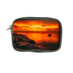 Alabama Sunset Dusk Boat Fishing Coin Purse