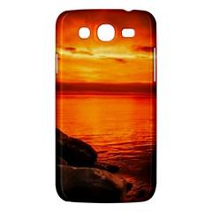 Alabama Sunset Dusk Boat Fishing Samsung Galaxy Mega 5 8 I9152 Hardshell Case