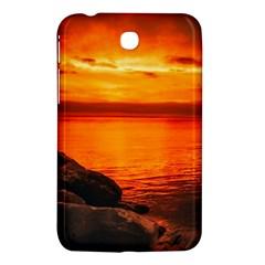 Alabama Sunset Dusk Boat Fishing Samsung Galaxy Tab 3 (7 ) P3200 Hardshell Case