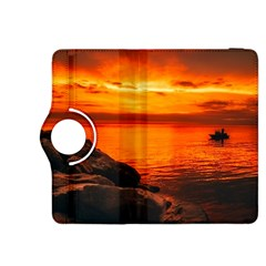 Alabama Sunset Dusk Boat Fishing Kindle Fire Hdx 8 9  Flip 360 Case