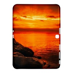 Alabama Sunset Dusk Boat Fishing Samsung Galaxy Tab 4 (10 1 ) Hardshell Case