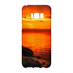 Alabama Sunset Dusk Boat Fishing Samsung Galaxy S8 Hardshell Case
