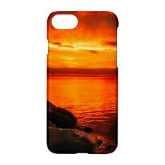 Alabama Sunset Dusk Boat Fishing Apple Iphone 8 Hardshell Case