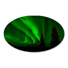 Aurora Borealis Northern Lights Oval Magnet