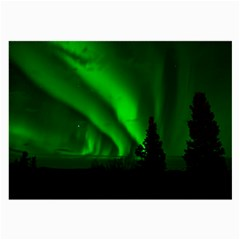 Aurora Borealis Northern Lights Large Glasses Cloth