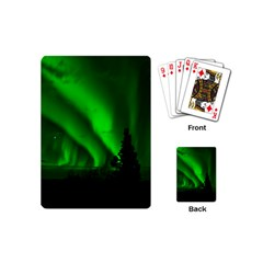 Aurora Borealis Northern Lights Playing Cards (mini)