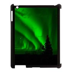 Aurora Borealis Northern Lights Apple Ipad 3/4 Case (black)