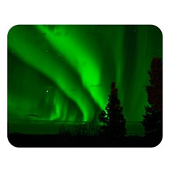 Aurora Borealis Northern Lights Double Sided Flano Blanket (large)