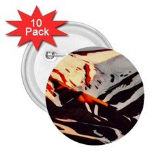 Iceland Landscape Mountains Snow 2 25  Buttons (10 Pack)