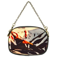 Iceland Landscape Mountains Snow Chain Purses (one Side)