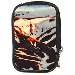 Iceland Landscape Mountains Snow Compact Camera Cases